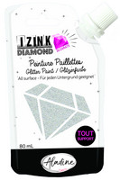 Aladine - IZINK Diamond, Silver, Kimallemaali, 80ml