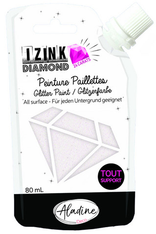 Aladine - IZINK Diamond, Pearly, Kimallemaali, 80ml