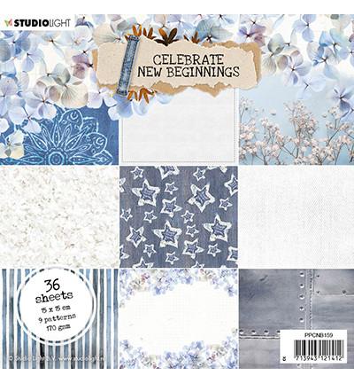 Studio Light - Celebrate New Beginnings, nr.159, Paperikko, 6