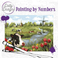 Dotty Design - Paint By Numbers 40x50cm, Landscape
