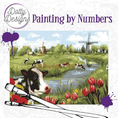 Dotty Design - Paint By Numbers 40x50cm, Landscape
