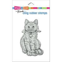 Stampendous - Sitting Kitty, Leima