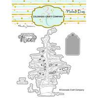 Colorado Craft Company - Christmas Tree Cat-By Anita Jeram, Stanssisetti