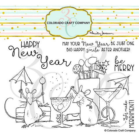 Colorado Craft Company - Party Time-By Anita Jeram, Leimasetti