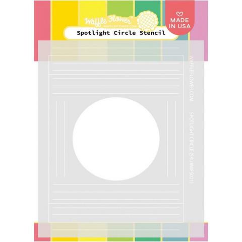 Waffle Flower - Spotlight Circle, Sapluuna