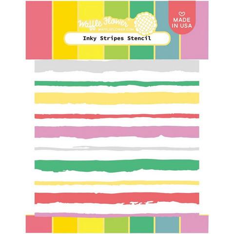 Waffle Flower - Inky Stripes, Sapluuna