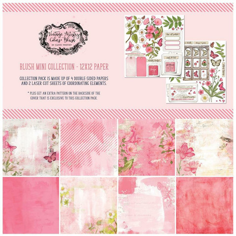49 And Market - Vintage Artistry Blush, Collection Pack 12