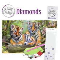 Dotty Designs - Tigers (K)(P), Timanttimaalaus, 30x42cm