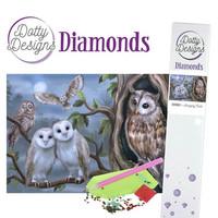 Dotty Designs - Amazing Owls (K)(P), Timanttimaalaus, 30x42cm