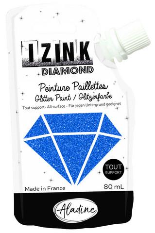 Aladine - IZINK Diamond, Blue, Kimallemaali, 80ml