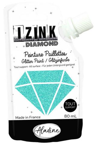 Aladine - IZINK Diamond, Sky Blue, Kimallemaali, 80ml