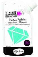Aladine - IZINK Diamond, Light Blue 24 Carat, Kimallemaali, 80ml