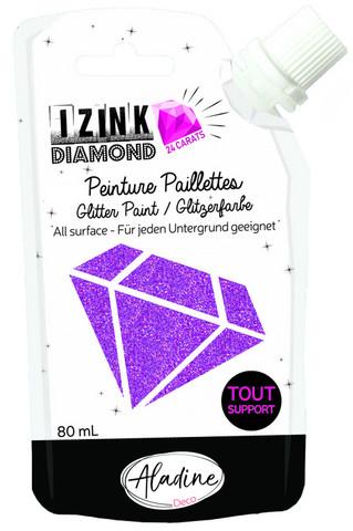 Aladine - IZINK Diamond, Peach 24 Carat, Kimallemaali, 80ml