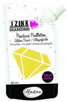Aladine - IZINK Diamond, Yellow 24 Carat, Kimallemaali, 80ml