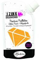 Aladine - IZINK Diamond, Orange 24 Carat, Kimallemaali, 80ml
