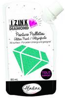 Aladine - IZINK Diamond, Turquoise 24 Carat, Kimallemaali, 80ml
