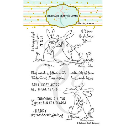 Colorado Craft Company - Lots Of Love-By Anita Jeram, Leimasetti