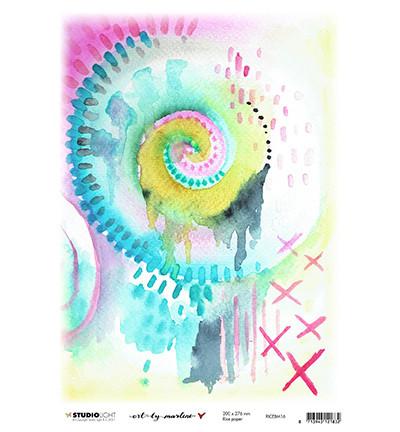 Studio Light - Art By Marlene, Marlene's World, Rice Paper Nr.16