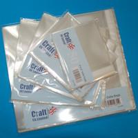 CraftUK - Sulkijapussi, 90x90mm, 50kpl