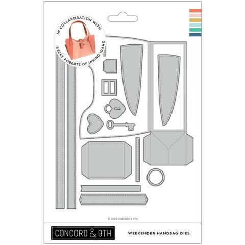 Concord & 9th - Weekender Handbag, Stanssisetti