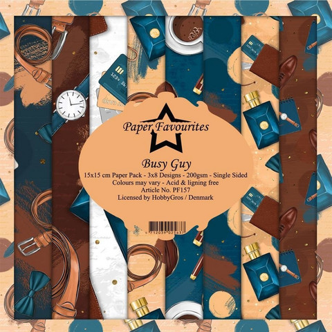 Paper Favourites - Busy Guy 6