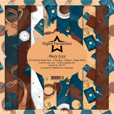 Paper Favourites - Busy Guy 12