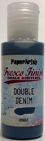 Paper Artsy - Fresco Finish, Akryylimaali, Double Denim, 50ml