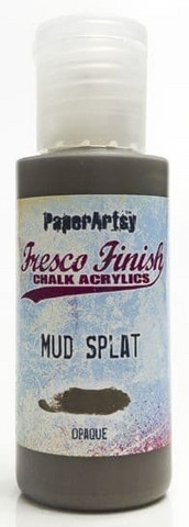Paper Artsy - Fresco Finish, Akryylimaali, Mud Splat, 50ml