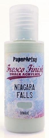 Paper Artsy - Fresco Finish, Akryylimaali, Niagara Falls, 50ml