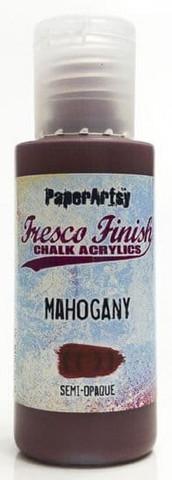 Paper Artsy - Fresco Finish, Akryylimaali, Mahogany, 50ml