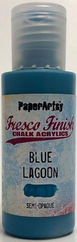 Paper Artsy - Fresco Finish, Akryylimaali, Blue Lagoon, 50ml
