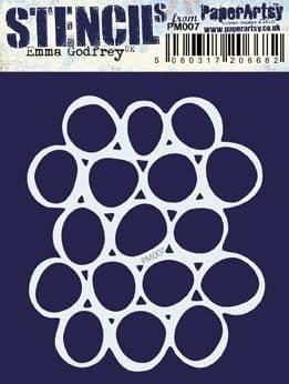 Paper Artsy - Mini Mask 007, Maski