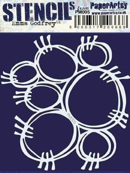Paper Artsy - Mini Mask 005, Maski