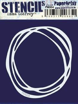 Paper Artsy - Mini Mask 004, Maski