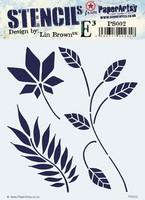 Paper Artsy - Stencil 002, Sapluuna