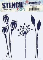 Paper Artsy - Stencil 007, Sapluuna