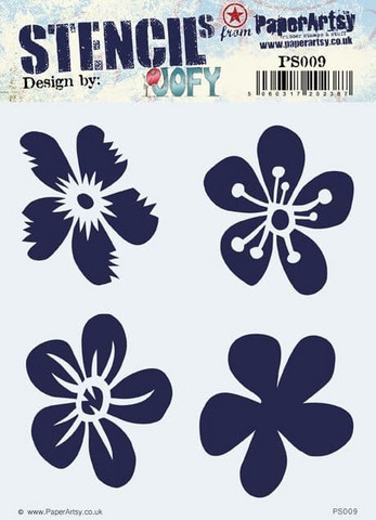 Paper Artsy - Stencil 009, Sapluuna