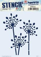 Paper Artsy - Stencil 011, Sapluuna