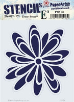 Paper Artsy - Stencil 126, Sapluuna