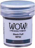WOW! - Kohojauhe, Black Puff (UH)(O), Ultra High, 15ml