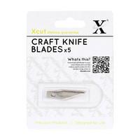 Xcut - Craft Knife Spare Blades, Askarteluveitsen varaterät, 5kpl