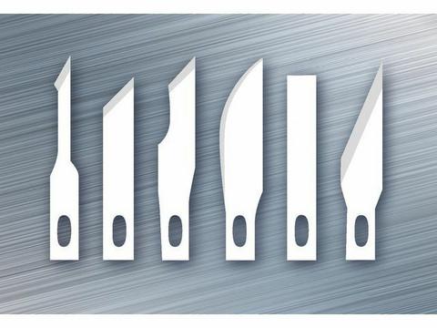 Westcott - Replacement Blades Craft Cutter Set, Askarteluveitsen varaterät, 6kpl
