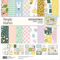 Simple Stories -  Bunnies & Blooms Collection Kit 12