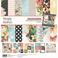 Simple Stories - Simple Vintage Cottage Fields Collection Kit 12