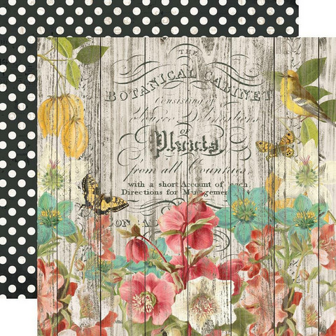 Simple Stories - Simple Vintage Cottage Fields Double-Sided Cardstock 12