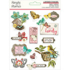Simple Stories - Simple Vintage Cottage Fields, Layered Stickers, 12 osaa