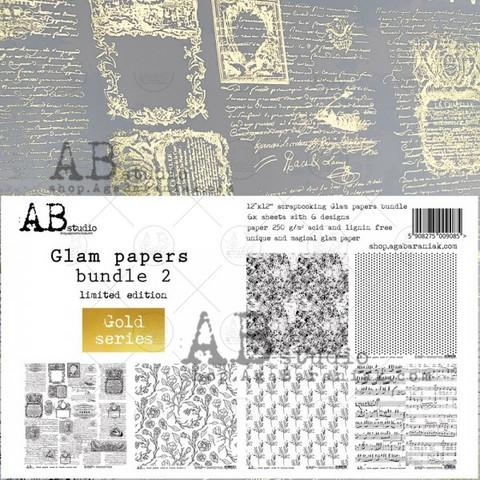 ABstudio by Aga Baraniak - Glam Papers Bundle 2, 12