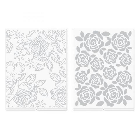 We R - Embossing Folder, Kohokuviointitasku, Florals