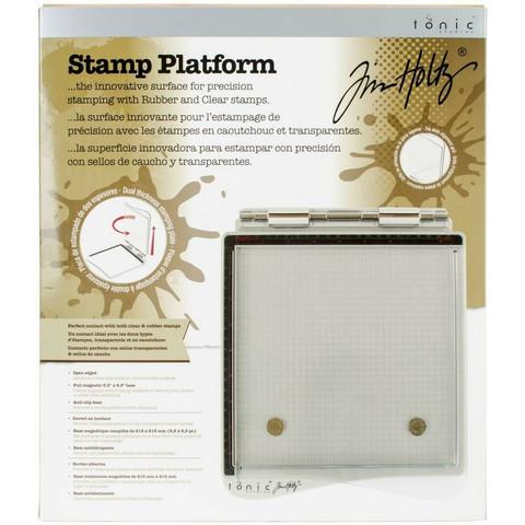 Tim Holtz - Stamp Platform, Leimailutyökalu