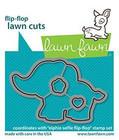 Lawn Fawn - Elphie Selfie Flip-flop, Stanssisetti